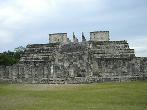 Chichen Itza - Temple of the Warriors