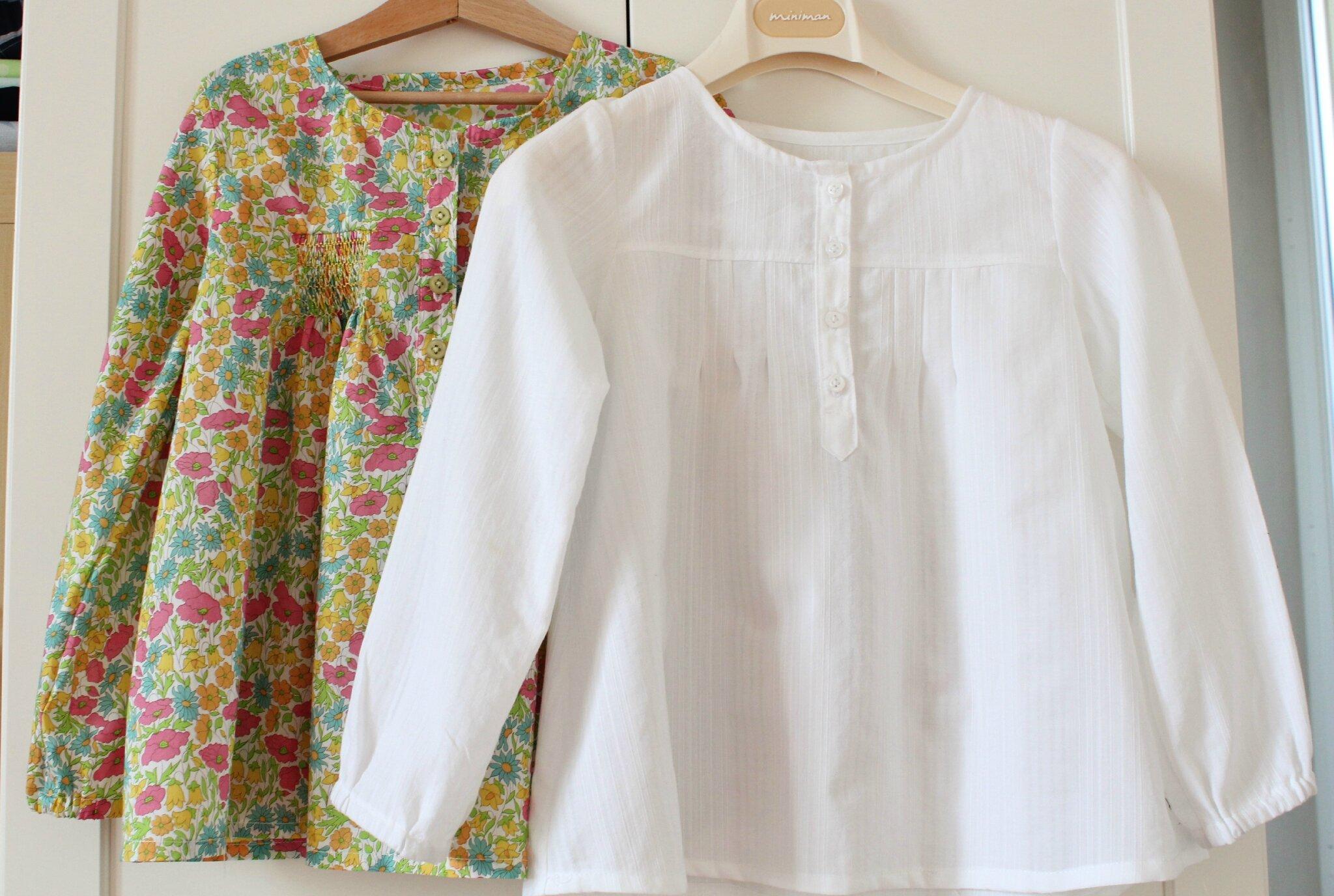 3 petites blouses