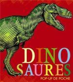 Dinosaures pop-up de poche boîtier