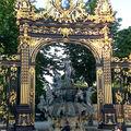 La Fontaine d'Amphitrite et les dorures Jean Lamour