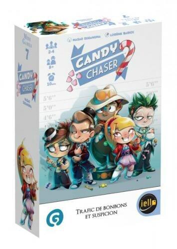 Boutique jeux de société - Pontivy - morbihan - ludis factory - Candy Chaiser