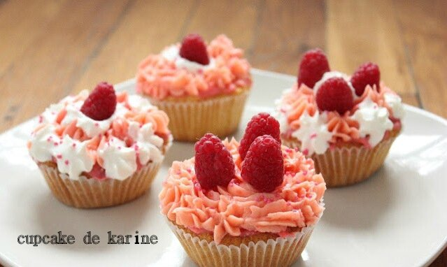 RECETTE - cupcake framboise