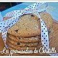 Cookies géants à la pâte de spéculoos et pépites de chocolat de isy
