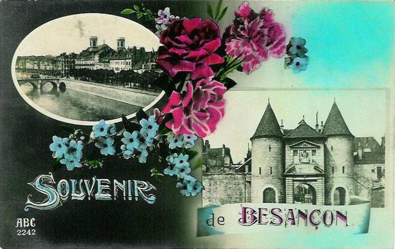 CPA Besançon Souvenir