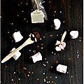 ☆ calendrier de l'avent : 1 surprise par jour ☆ jour 19 : sucette chocolat-marshmallow pour chocolat chaud