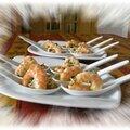 Crevettes marinées à l'orange...le dimanche c'est apéro