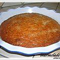 Marmelade cake aux pepites de chocolat