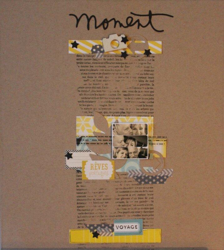 Page Mars myscrapbookart