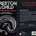Labyrinthe fatal - preston & child