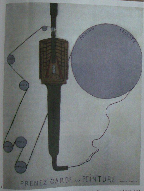Francis Picabia, Prenez garde à la peinture, 1919