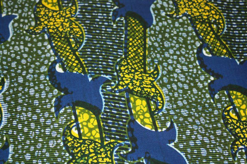 Wax noeuds bleu jaune