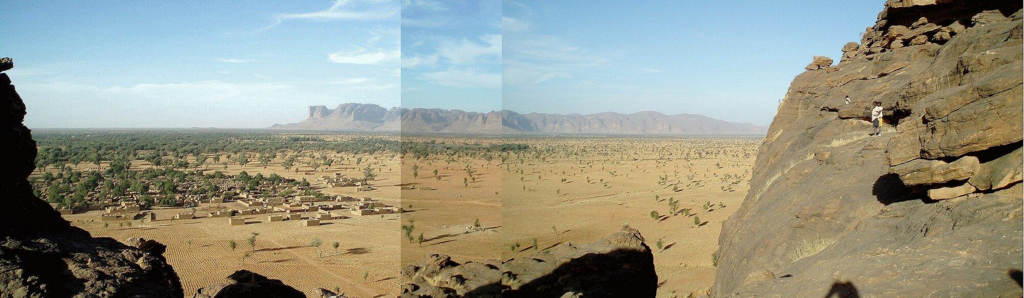 vue panoramique sur Fombori