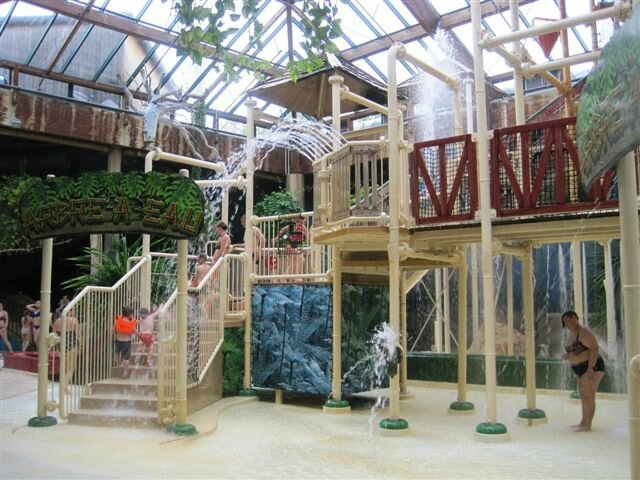 Un week end au Center Parcs des Bois Francs (avis) Kid Friendly # Aqua Mundo Bois Francs