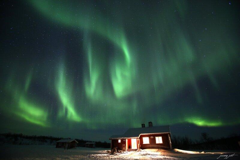 aurora borealis finnmark plateau