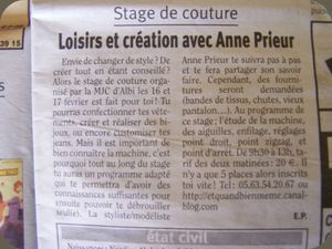 Article pour Stage