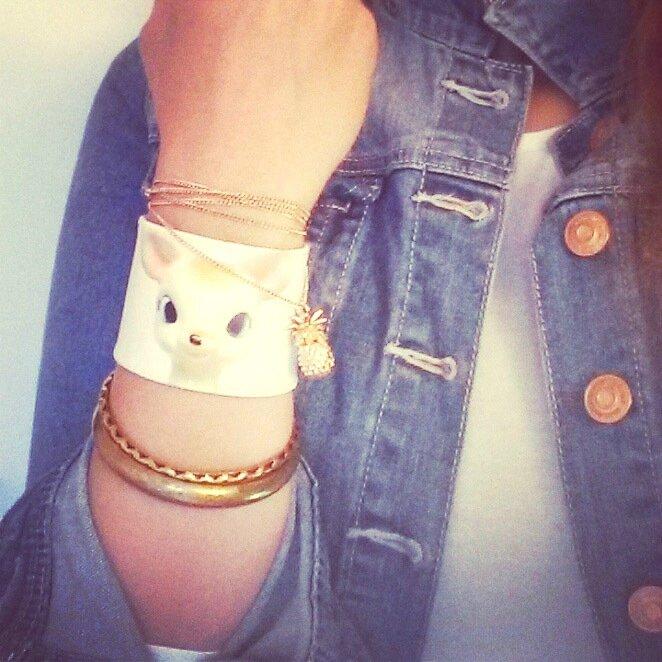 bracelet vintage bambi