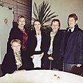 Elise Fischer avec quelques-unes de ses lectrices