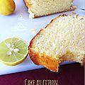 Cake au citron et à l'huile d'olive ♥ extra-moelleux ♥