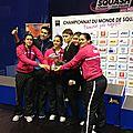 k-Nîmes 2012 Championnat du monde Squash par équipe féminin