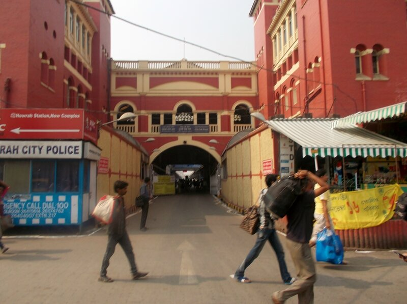 Howrah Junction Station, la gare de Kolkata