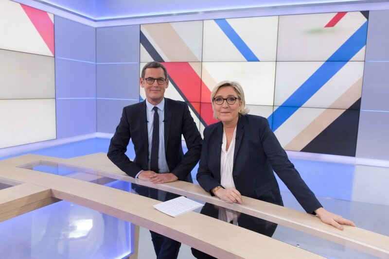 FRANCIS LETELLIER MARINE LE PEN MEDIA DIXIT WORLD