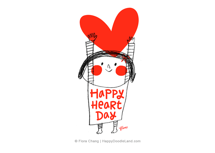 Happy+Heart+Day+©+Flora+Chang+-+Happy+Doodle+Land