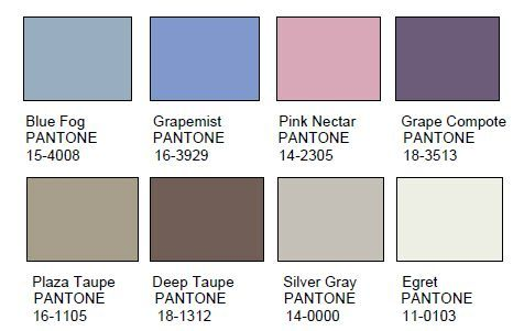 Pantone gris taupe table de lit for Code couleur taupe