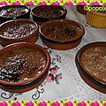 Crème brulée aux carambar