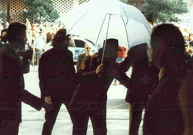 Michael visits Zaragoza Spain 1996 (8)