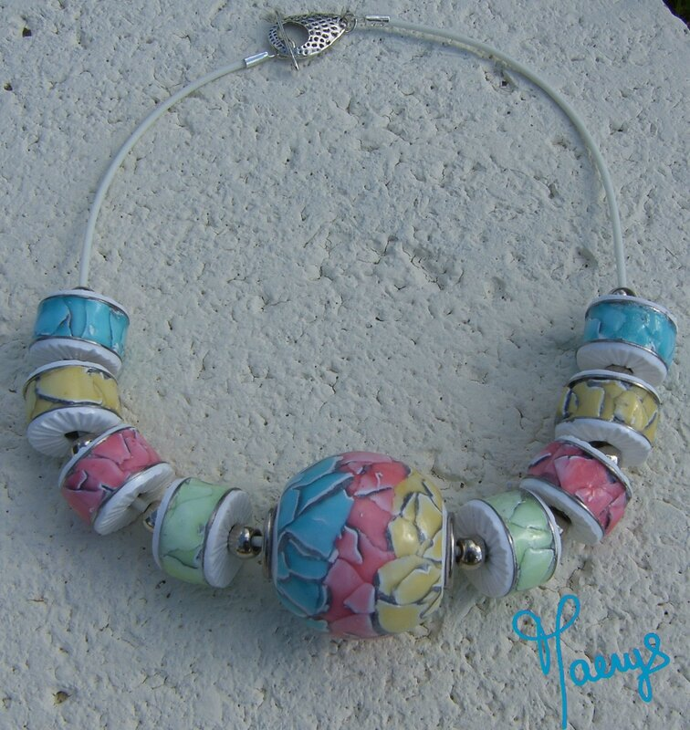 collier canette aquarelle