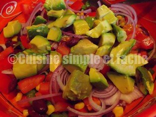 Salade haricots rouges 03