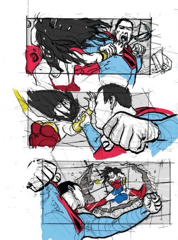 Justice League Mortal (storyboard) (1)