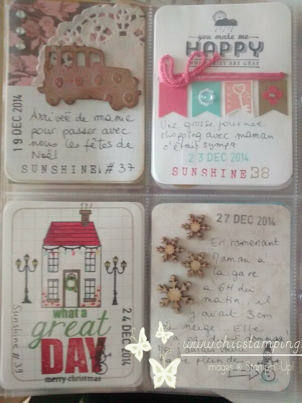 DIY project life card december 2014