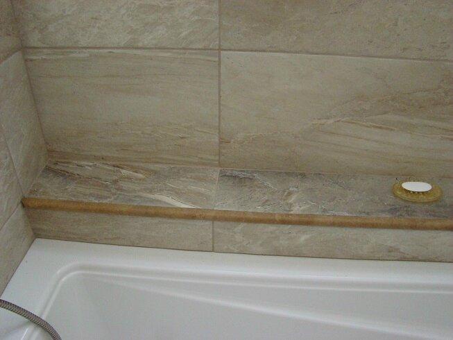 Pose de la c ramique partie plancher maj zon tel for Poser de la ceramique salle de bain