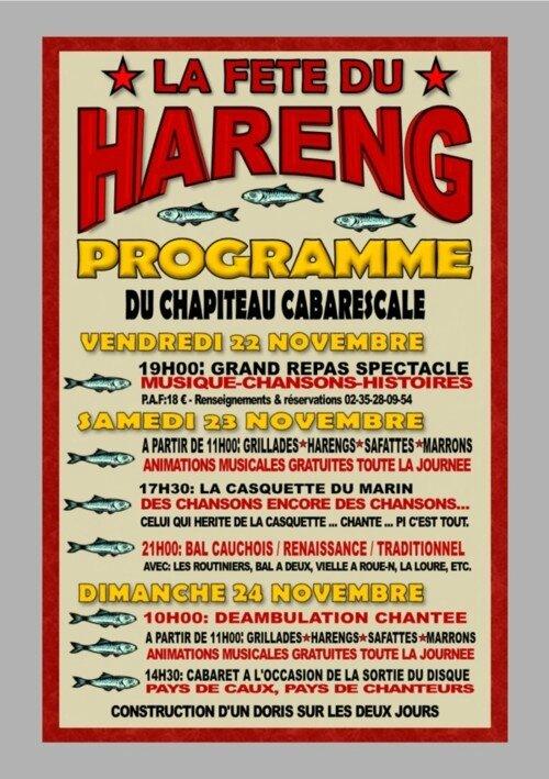 fête du hareng fécamp