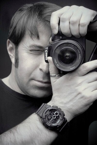 Selfportrait with G-shock
