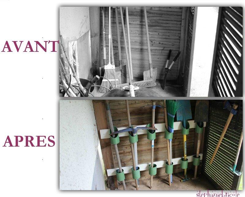 Id e de rangement r cup pour le jardin st phanie bricole - Bricolage au jardin 100 realisations pratiques et faciles ...