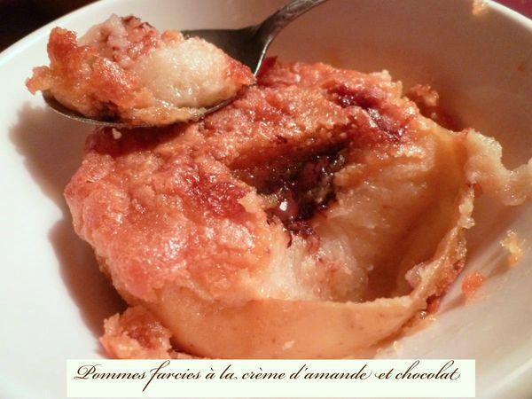 pommes farcies amandes