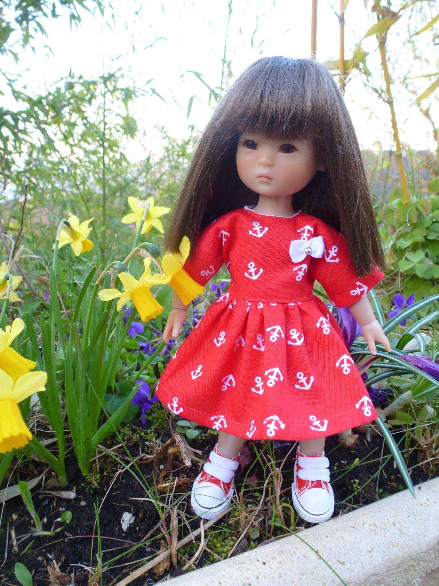 Petites robes de printemps pour Ten Ping 20 cm, peuvent être refaites, 10 € et fdp