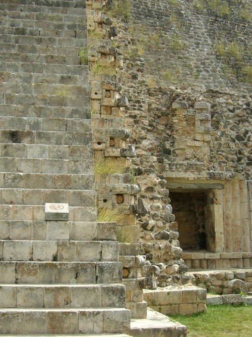 Uxmal - Pyramid of the Magician