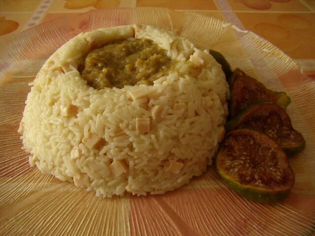 Riz et aubergines mille et une recettes de colette - Quantite de riz par personne ...