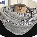 snood maille 4