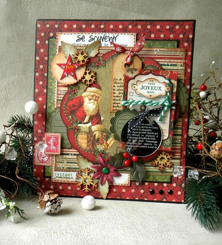 cartes de noel xxl pour embelliscrap en bobunny la pause en scrap de caroline60. Black Bedroom Furniture Sets. Home Design Ideas