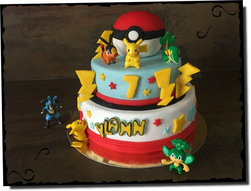 Connu Gateau 3d pokemon – Home baking for you blog photo XP08