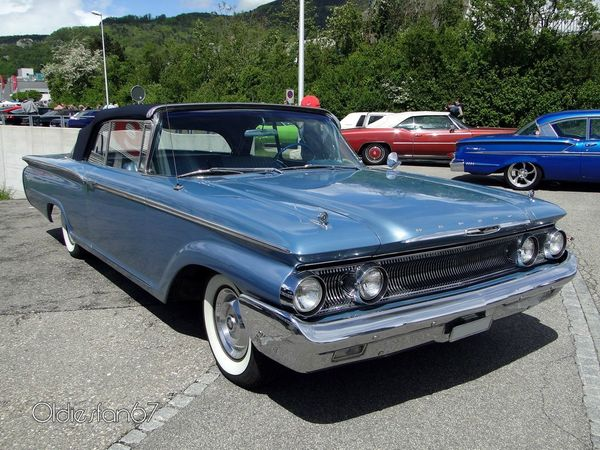 mercury monterey convertible 1960 c