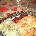 2007 St Valentin - Tourte confit de canard pdt pommes