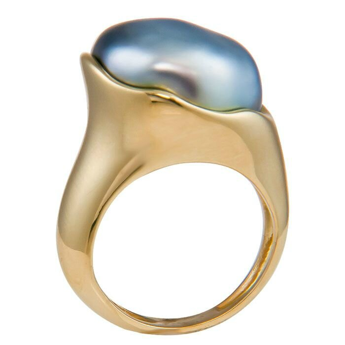 Elsa Peretti for Tiffany & Co. Tahitian Pearl Ring