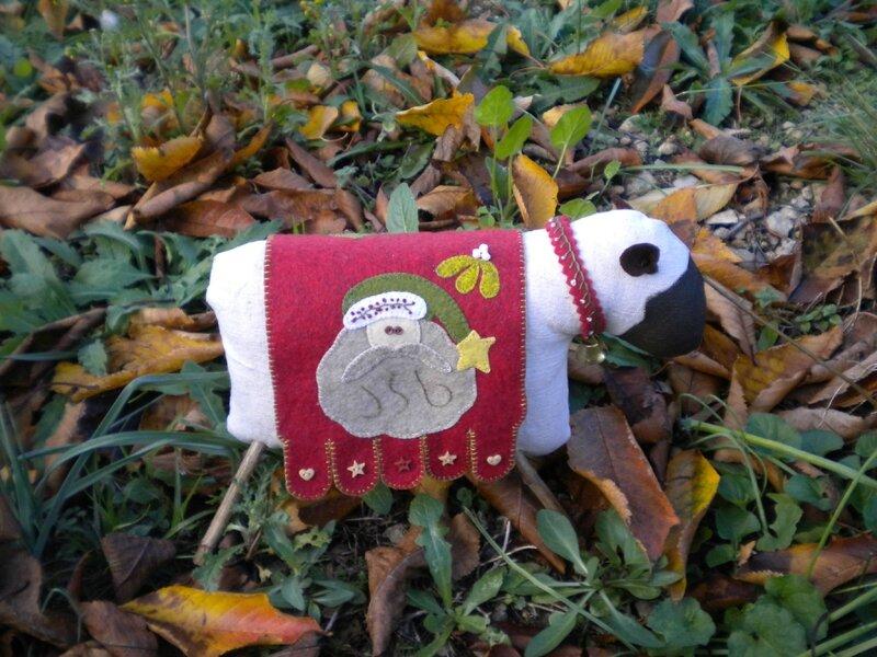 Léon le mouton de Noël