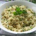 Salade de quinoa à la menthe, sans gluten et sans lactose