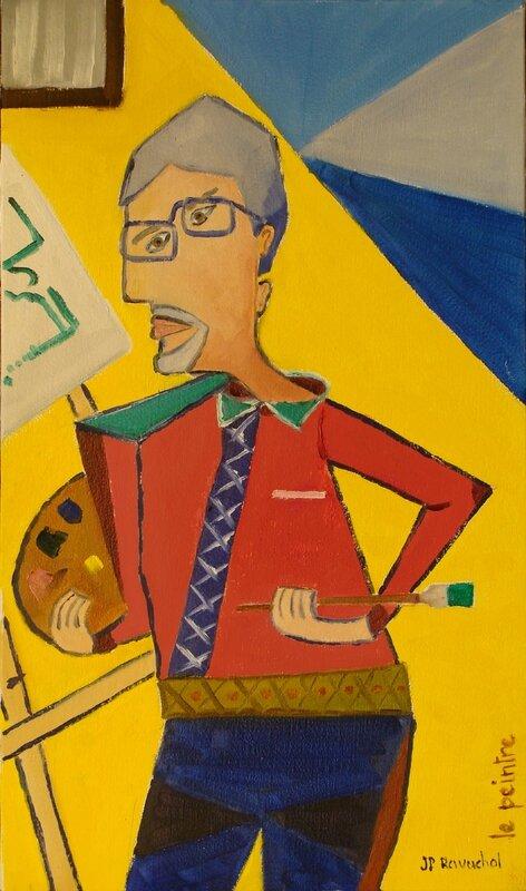 le peintre Jean Paul